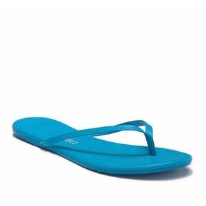 Tkees flip flop sandals Color #15 (blue) - Size 9